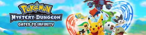 Banner Pokemon Mystery Dungeon Gates to Infinity