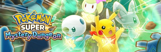 Banner Pokemon Super Mystery Dungeon