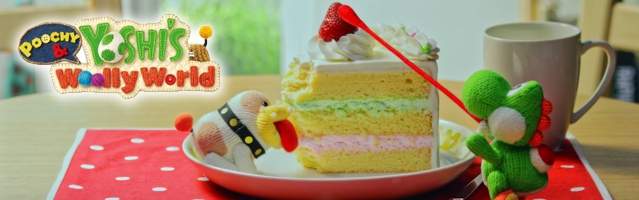 Banner Poochy and Yoshis Woolly World