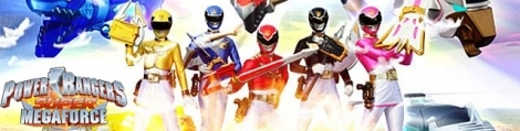 Banner Power Rangers Megaforce