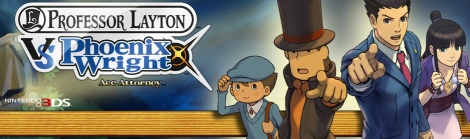 Banner Professor Layton vs Phoenix Wright Ace Attorney