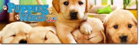 Banner Puppies World 3D