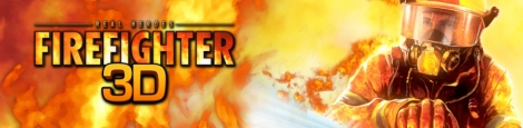 Banner Real Heroes Firefighter 3D