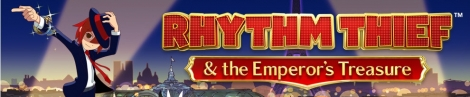 Banner Rhythm Thief and the Emperors Treasure