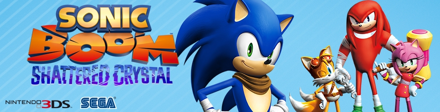 Banner Sonic Boom Shattered Crystal
