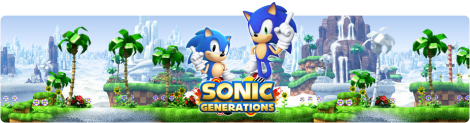 Banner Sonic Generations