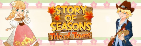 Banner Story of Seasons Trio of Towns