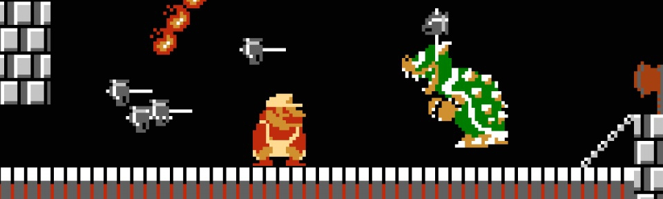 Banner Super Mario Bros The Lost Levels