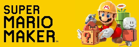 Banner Super Mario Maker for Nintendo 3DS