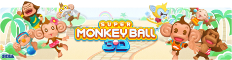 Banner Super Monkey Ball 3D