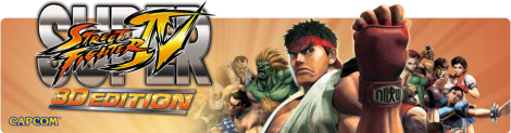 Banner Super Street Fighter IV 3D Edition