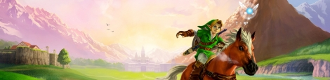 Banner The Legend of Zelda Ocarina of Time 3D