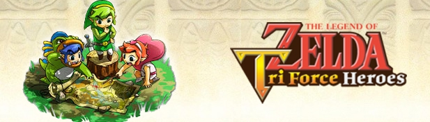 Banner The Legend of Zelda Tri Force Heroes