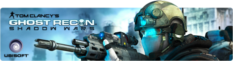 Banner Tom Clancys Ghost Recon Shadow Wars
