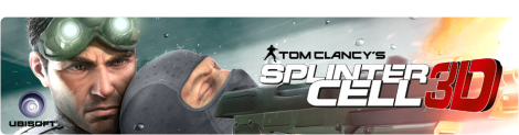 Banner Tom Clancys Splinter Cell 3D