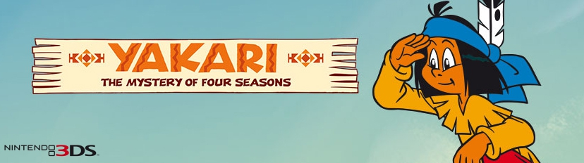 Banner YAKARI The Mystery of Four-Seasons