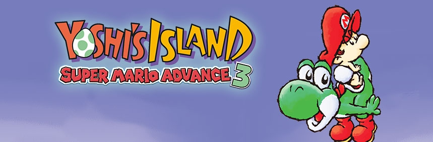 Banner Yoshis Island Super Mario Advance 3