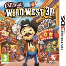 Carnival Wilde Westen 3D Losse Game Card voor Nintendo 3DS