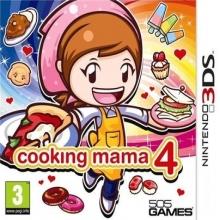 Cooking Mama 4 Kitchen Magic voor Nintendo 3DS