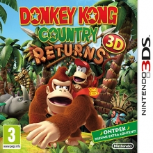 Donkey Kong Country Returns 3D voor Nintendo 3DS