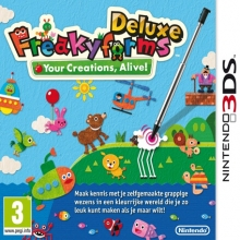 Freakyforms Deluxe: Your Creations, Alive! voor Nintendo 3DS