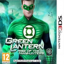 Green Lantern Rise of the Manhunters voor Nintendo 3DS