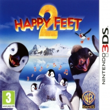 Happy Feet 2 Losse Game Card voor Nintendo 3DS
