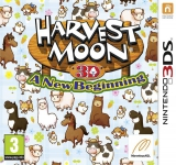 Harvest Moon 3D A New Beginning voor Nintendo 3DS