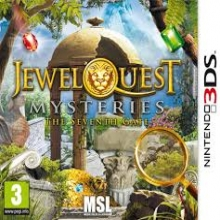 Jewel Quest Mysteries 3 - The Seventh Gate voor Nintendo 3DS
