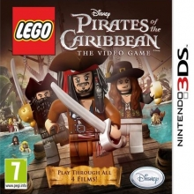 LEGO Pirates of the Caribbean: The Video Game Losse Game Card voor Nintendo 3DS