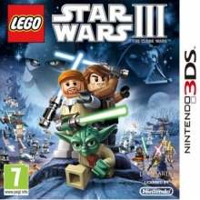 LEGO Star Wars III: The Clone Wars Losse Game Card voor Nintendo Wii