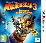 Madagascar 3: Europe's Most Wanted Losse Game Card voor Nintendo 3DS