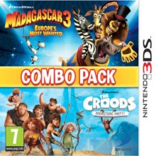Madagascar 3 and The Croods Combo Pack voor Nintendo 3DS