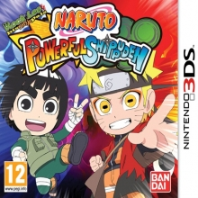 Naruto Powerful Shippuden Losse Game Card voor Nintendo Wii