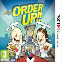 Order Up voor Nintendo 3DS