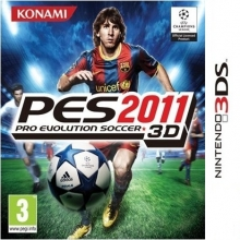 PES 2011 3D: Pro Evolution Soccer Losse Game Card voor Nintendo 3DS