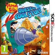 Phineas and Ferb: Quest for Cool Stuff Nieuw voor Nintendo 3DS