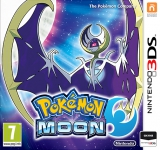 Pokémon Moon Losse Game Card voor Nintendo 3DS