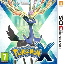 Pokémon X Losse Game Card voor Nintendo 3DS
