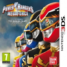 Power Rangers Megaforce voor Nintendo 3DS