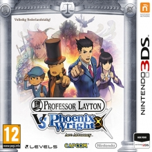 Professor Layton vs Phoenix Wright Ace Attorney voor Nintendo 3DS