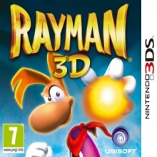 Rayman 3D Losse Game Card voor Nintendo Wii