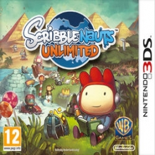Scribblenauts Unlimited voor Nintendo 3DS
