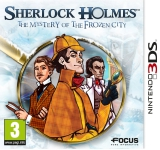 Sherlock Holmes The Mystery of the Frozen City voor Nintendo 3DS