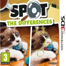 Spot the Differences voor Nintendo 3DS