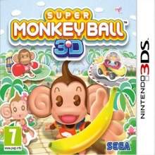 Super Monkey Ball 3D Losse Game Card voor Nintendo 3DS