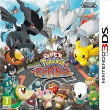 Super Pokémon Rumble Losse Game Card voor Nintendo 3DS