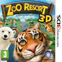 Zoo Resort 3D Losse Game Card voor Nintendo 3DS