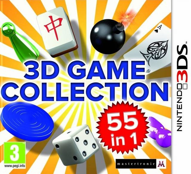 Boxshot 3D Game Collection: 55 In 1