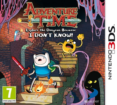 Boxshot Adventure Time: Explore the Dungeon Because I DON'T KNOW!